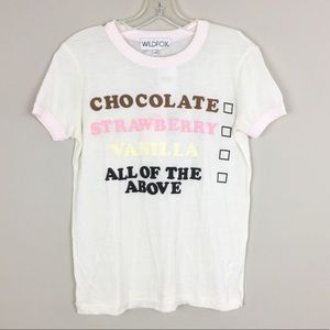 WILDFOX | Ice Cream Choices Tee - M1